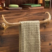 Antler Towel Rack Decorative Decor