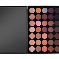 Morphe Pro 35 Color Eyeshadow Makeup Palette - Warm (Highly Pigmented) 35W