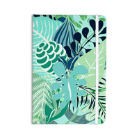 "Anchobee ""Giungla"" Green Floral Everything Notebook"