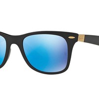 Ray-Ban Men's Wayfarer Liteforce Polarized Square Sunglasses