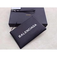 BALENCIAGA 2018 HOT STYLE LEATHER ZIPPER HAND BAG