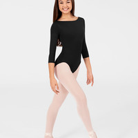 Free Shipping - Adult High Cut 3 4 Sleeve Leotard by NATALIE