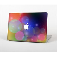 """The Unfocused Color Rainbow Bubbles Skin Set for the Apple MacBook Air 11"""""""
