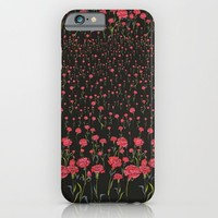 flower me; iPhone & iPod Case by Pink Berry Patterns