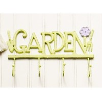 Cast Iron Garden Wall Hook - Choose Your Color - Colorful Cast and Crew