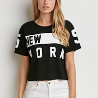New York Boxy Tee