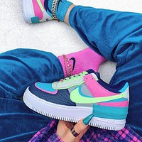 Nike Air Force 1 Simple Low-Top Joker Flat Sneakers Shoes
