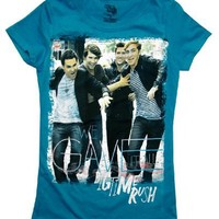 Big Time Rush We Gave It All Band Photo TV Show Girls T-Shirt Tee