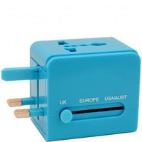 Flight 001   UNIVERSAL ADAPTER BLUE - All Products