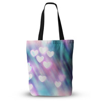 """Beth Engel """"Your Love is Sweet Like Candy"""" Heart Tote Bag, 13"""" x 13"""" - Outlet Item"""