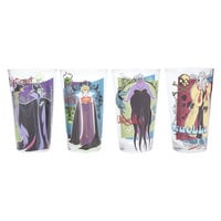 Disney Villains Pint Glasses Set
