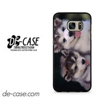 Siberian Husky Puppies Dog DEAL-9589 Samsung Phonecase Cover For Samsung Galaxy S7 / S7 Edge