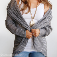 Grace & Lace Two-Fit Knit Sweater