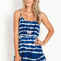 TIDAL WAVES TIERED DRESS