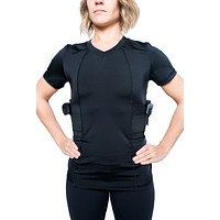 Graystone Holster Shirt Concealed Carry Clothing for Women V Neck - Easy Reach Gun Concealment Compression CCW Tactical Clothes…