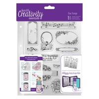 A5 Clear Stamp Set (14pcs) - Musicality | docrafts.com