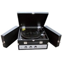 Pyle-Home PLTTB8UI Classical Vinyl Turntable Player with PC Record, iPod Player, AUX Input and Dual Fold-Out Speaker System