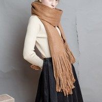 Tussle Woven Scarf | 2 Colors