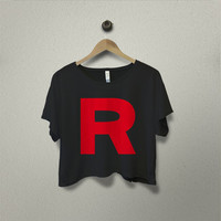 Rocket Team Pokemon Crop Tees - Beyonce Crop Shirt - Beyonce T-Shirt