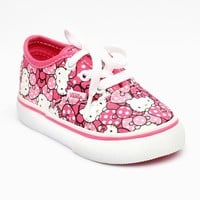 VANS x Hello Kitty Toddler Authentic: Hot Pink