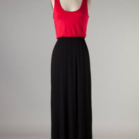 Game Day Maxi -- Black/Red