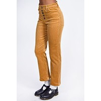 Butterscotch Corduroy High Rise Pants