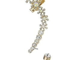 Flower Gold Ear Cuff Earring – Fashion Jewelry and Accessories