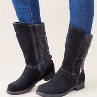 Muk Luk-Casey Boot-Dark Grey