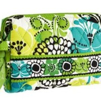 Vera Bradley Small Cosmetic in Limes Up