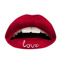 Violent Lips - The Red Love Lip Appliques - Set of 3