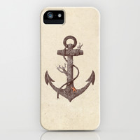 Lost at Sea  iPhone & iPod Case by Terry Fan