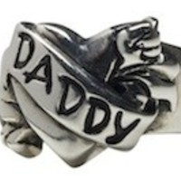 Daddy Tattoo Ring by Femme Metale