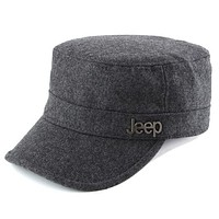 Perfect Jeep Women Men Flat Cap Sun Peaked Cap Leisure Hat