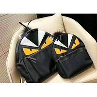 Fendi fashion hot selling women's patchwork backpack casual backpack