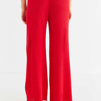 UO Ribbed Wide-Leg Sweater Pant | Urban Outfitters