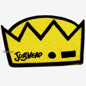 Licensed cool Licensed Riverdale Jughead Crown Hat IRON ON Patch Badge for jacket or hoodie