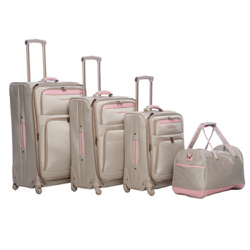 Tommy Bahama Mama 4-piece Spinner Luggage Set | Overstock.com Shopping - The Best Deals on Four-piece Sets