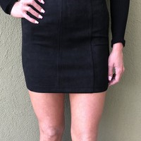 In This Together Skirt- Black