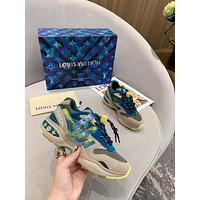 LV Louis Vuitton Women's Men's 2020 New Fashion Casual Shoes Sneaker Sport Running Shoes