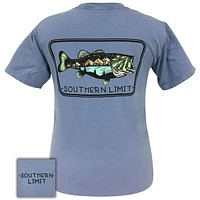 Southern Limits Bass Mountain Unisex Comfort Colors T-Shirt