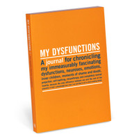 Knock Knock My Dysfunctions Mini Journal - Official Shop