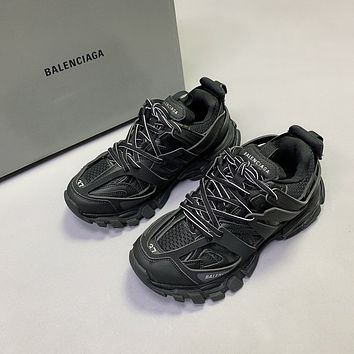 Balenciaga Men's And Women's 2021 NEW ARRIVALS Triple-s Tess.s.Gomma Track 3.0 Sneakers Shoes