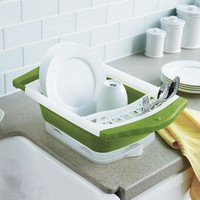 Food Network Collapsible Dish Rack