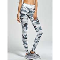 Women's Fashion Hot Sale Camouflage Slim Leggings Casual Sportswear [10193302663]