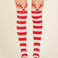 Rooftop Revelry Tights | Mod Retro Vintage Tights | ModCloth.com