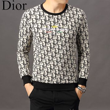Dior Men Fashion Casual Top Sweater Pullover