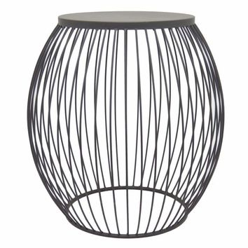 Outstanding Metal Accent Table