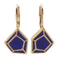 Marc by Marc Jacobs Leverback Gem Slices Earrings
