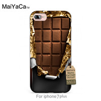 Delicious cover chocolate Classic image paintings cover mobile phone For iPhone 7s plus 7plus case