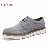New Arrival Men Shoes leather genuine men casual shoes comfortable flat shoes man breathable hard-wearing shoes